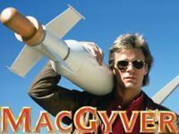 Poster for the Original MacGyver series.