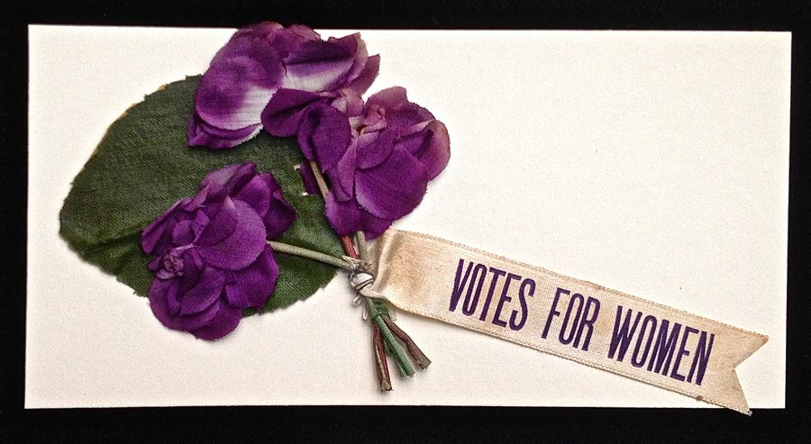 It wasn't until 1920 that women were allowed to vote in the United States.