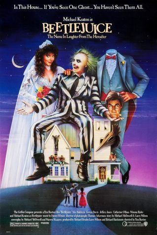 The smashing 1988 hit, 'Beetlejuice', is another success for Tim Burton.