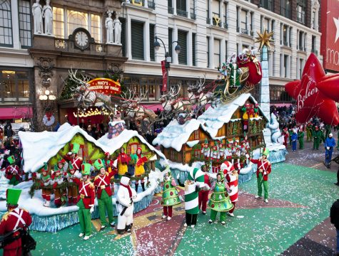 Santa and his helpers at the 87th Annual Macy's Thanksgiving Day Parade. Photo Credit: Photo via flickr.com under Creative Commons License