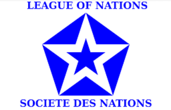 The League of Nations formed as a result  of the Paris Peace Conference that ended the First World War.