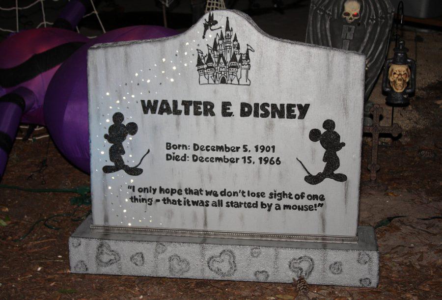 Walt Disney Dies The Declaration