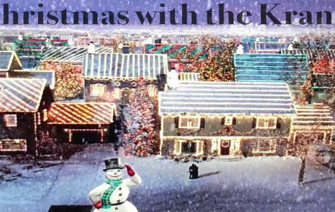 Snow falls as the Kranks celebrate Christmas with family and friends.