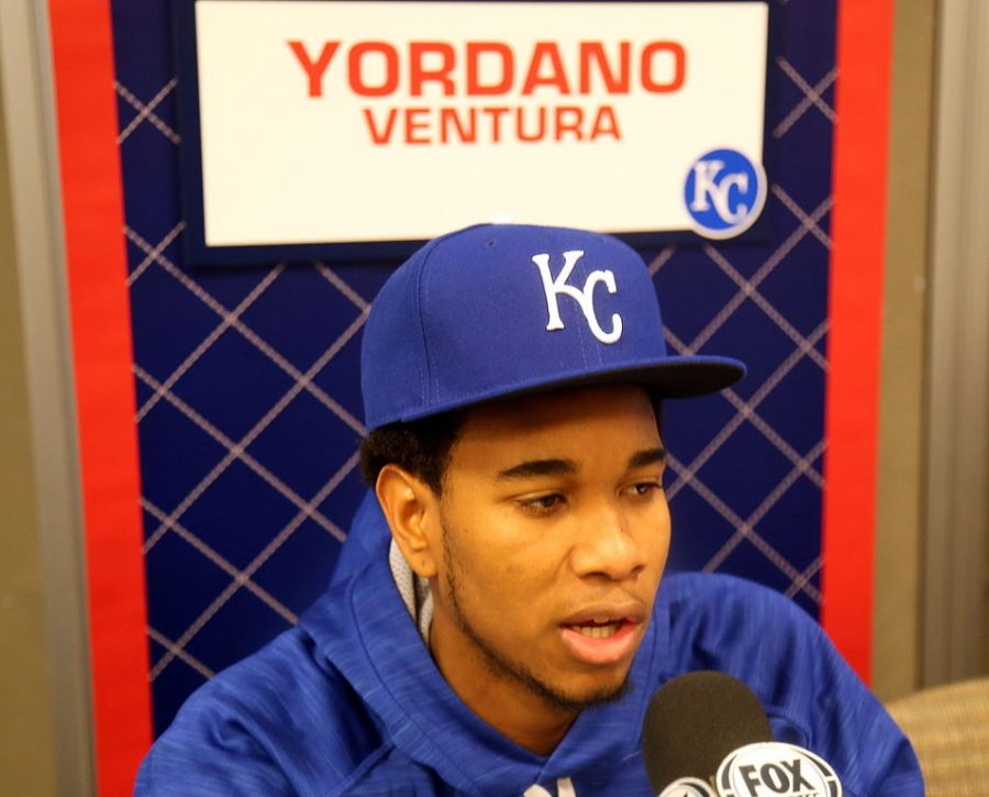 Royals starting pitcher Yordano Ventura was one of the best  in the game.