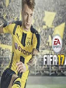 German soccer player Marco Reus on the cover of FIFA 17.