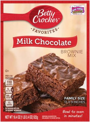 Betty Crocker Milk Chocolate Baking Brownies make for a great treat