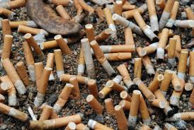 Cigarette butts are the most littered item in the world with an estimated 4.5 trillion littered annually.  Each butt can take 5 to 400 years to completely break down