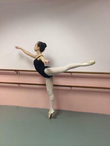 CHS student Julia Cleary dances through life