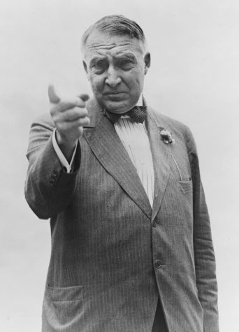 Harding becomes first president to be heard on the radio