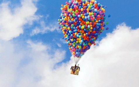 It would take 10,000 balloons to life a person out of the air