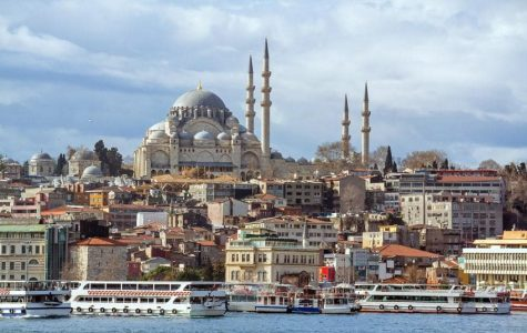 The city of Istanbul, Turkey is located in both Europe and Asia