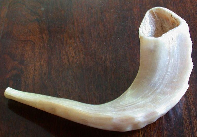 an+image+of+a+shofar.+