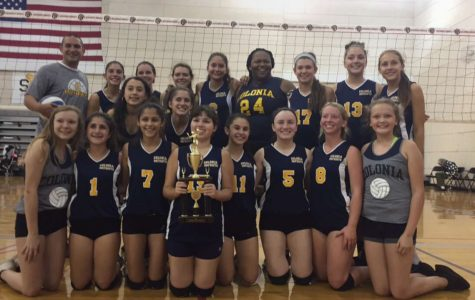 Colonia girls' volleyball rise to the top
