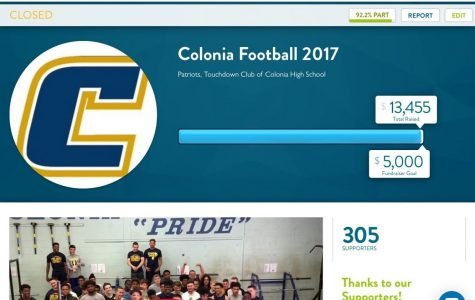Colonia Football off-season fundraiser triples original goal