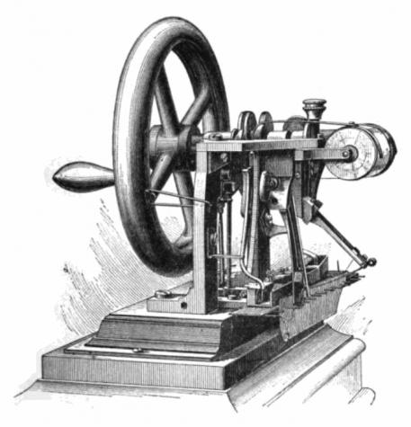 Sewing Machine Patented