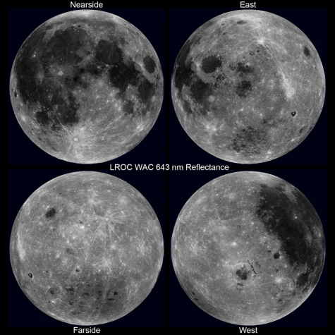 Far Side of the Moon seen for the First Time