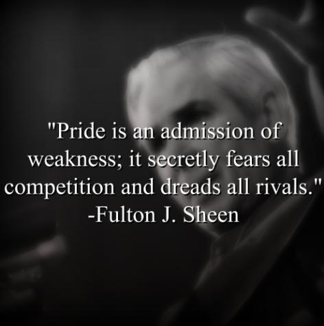 Fulton J. Sheen says,