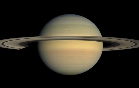 Saturn's density is so low that the planet would float in water