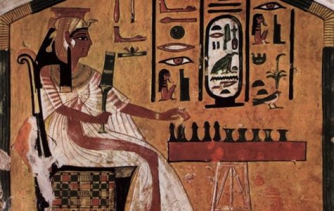 The first board game was called Senet and was invented in 3100 AD