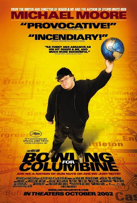 """Bowling for Columbine"" a story that tells about a past that affected the future"