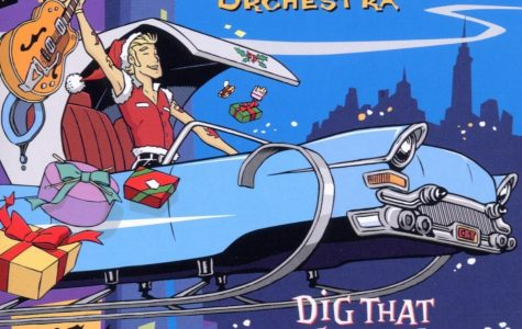 Brian Setzer Dig that Crazy Christmas Album Review