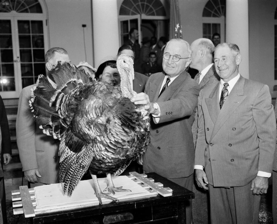 The+first+President+to+pardon+a+turkey+was+Harry+Truman+in+1947