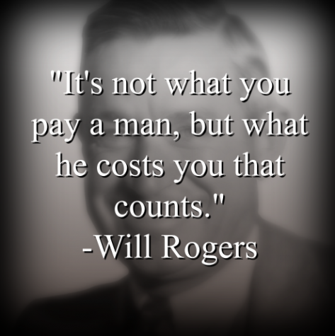 Will Rogers says,