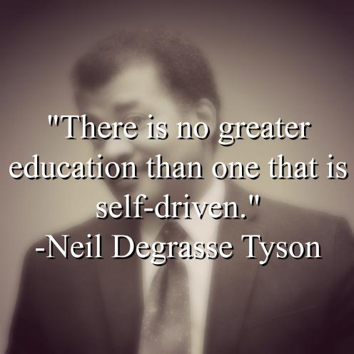 Neil Degrasse Tyson says,
