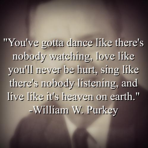 William W. Purkey says,