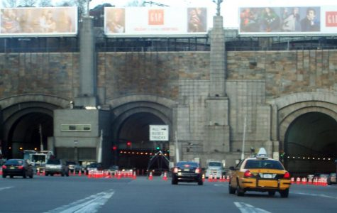Center tube of the Lincoln Tunnel Opens for the first time