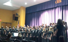 Colonia High School Choir and Band Come Together For The Annual Winter Concert