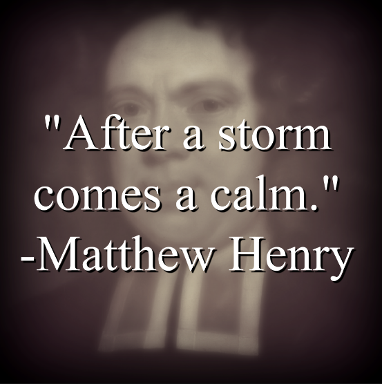 Matthew Henry says,