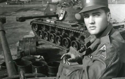 Elvis Presley receives his draft notice