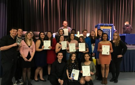 Celebrating the Induction of the International Thespian Society