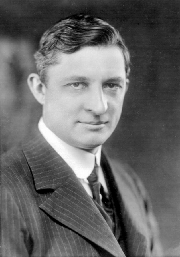 Willis Carrier inventor of the air conditioner poses for a photo.