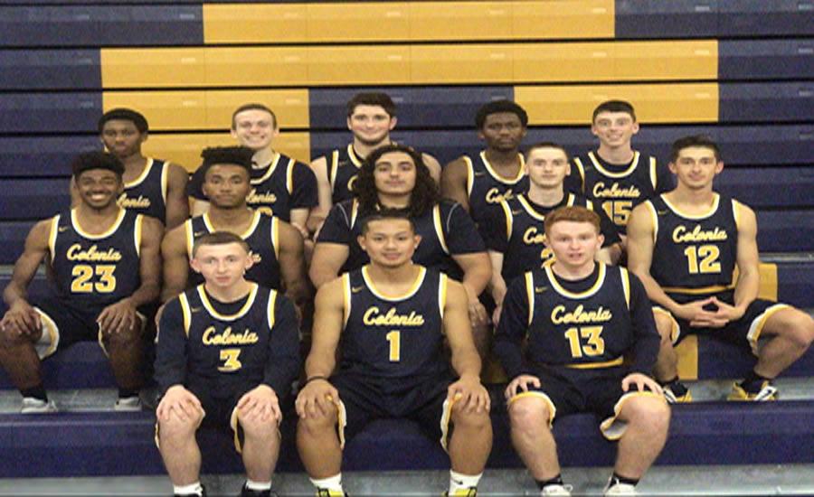 Varsity boys get together for 2017-2018 team photo.