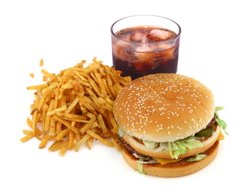 Whenever you feel famished, fast food is your best friend.