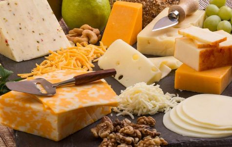 The average human will consumer 23 pounds of cheese a year