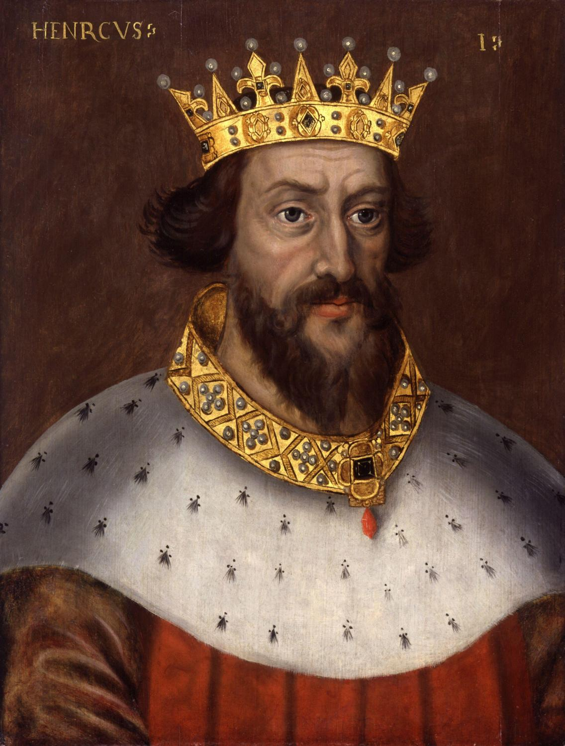 King Henry I representing a patrician status