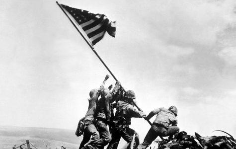 United States raises flag in Iwo Jima