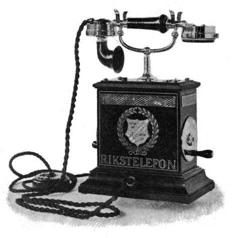 Alexander Graham Bell patenst the telephone