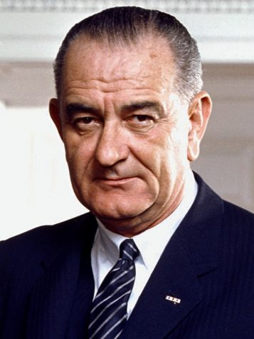 President Johnson pushes for equal voting rights