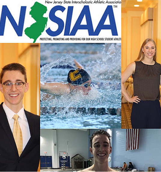 During the season Coach DeGraw made a collage of John Piccinic and Monika Burzynska highlights of 2017-2018 swim season. The pictures included them at the swim team banquet and at GMC.