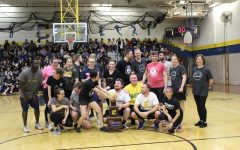English department secures well-deserved dodgeball victory