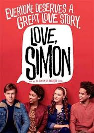 The Love Simon cast of Nick Robinson, Katherine Langford, Jorge Lendeborg, and Alexandra Shipp poses for the camera.
