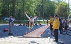 After her first attempt, Amaya Martinez jumps 15 feet.