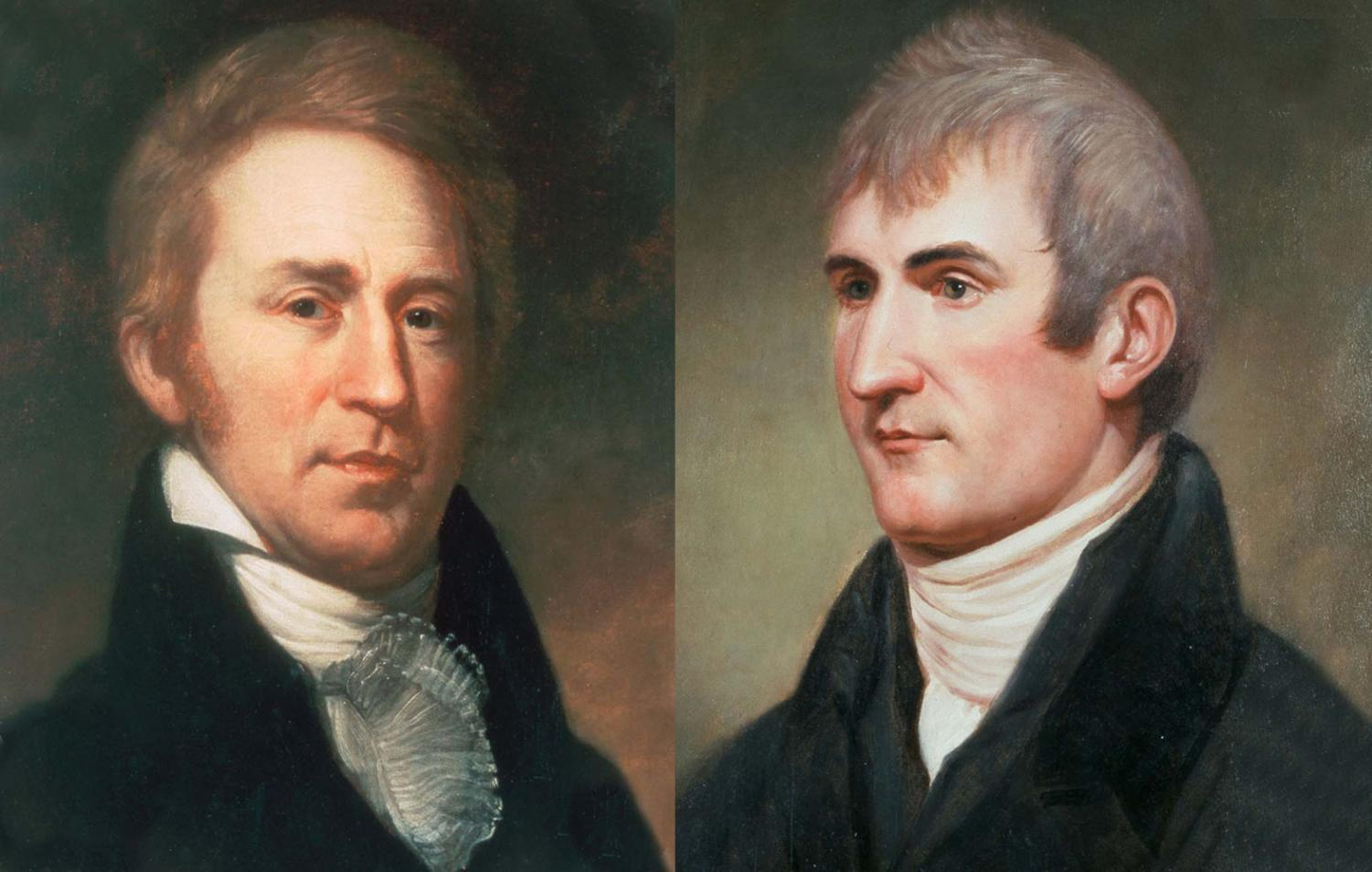 A famed duo, Lewis and Clark are responsible for exploring most of the new land acquired by the Louisiana Purchase.