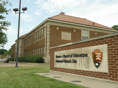 Now a Historical landmark, Monroe Elementary is the sight of famed brown v. Board of Education case.