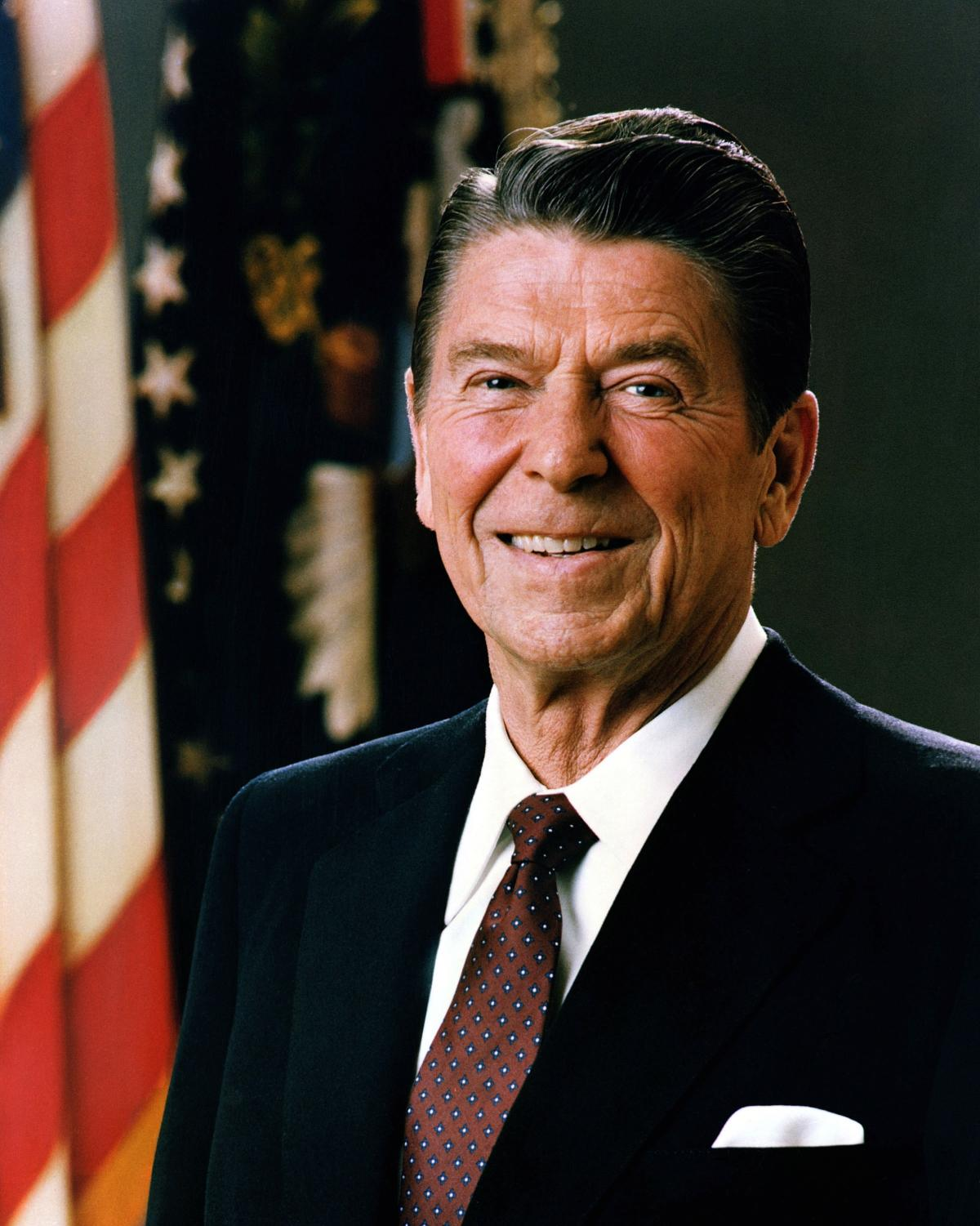 A former film start, President Ronald Reagan is credited by some as the man who ended the Cold War.