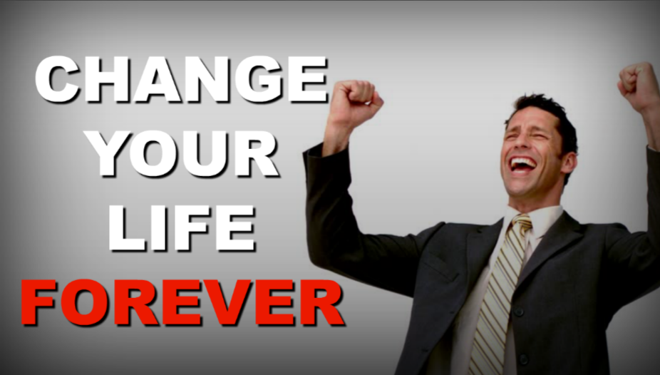 These five simple changes that can improve your life forever.